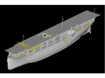 TR05631 US Navy CV 1 Langley Aircraft Carrier