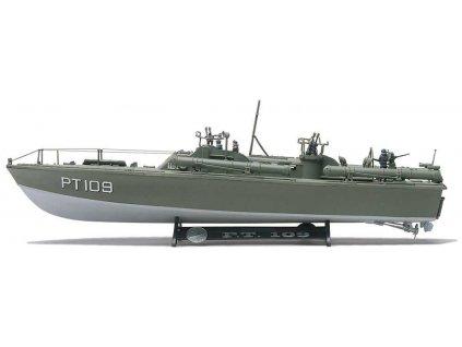 Plastic ModelKit MONOGRAM loď 0310 - PT-109 PT Boat  (1:72)