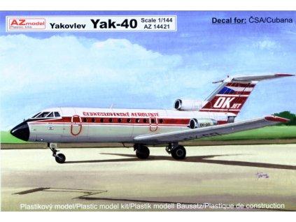 AZMO14421 Yak-40