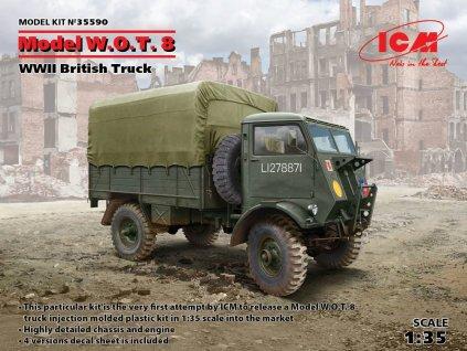 ICM 35590 Model W.O.T. 8 WWII British Truck