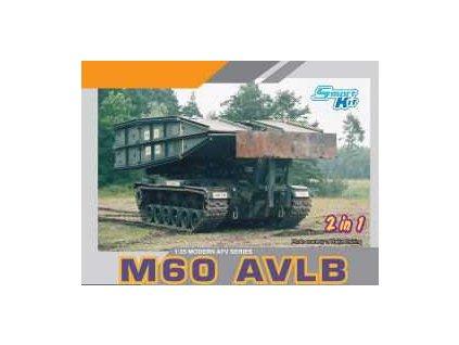Model Kit military 3591 - M60 AVLB (Armored Vehicle Launched Bridge) SMART KIT (1:35)