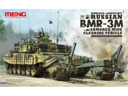 Meng SS 011 Russian BMR 3M Armored Mine Clearing Vehicle