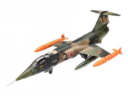 Plastic ModelKit letadlo 03879 - F-104 G Starfighter NL/B (1:72)