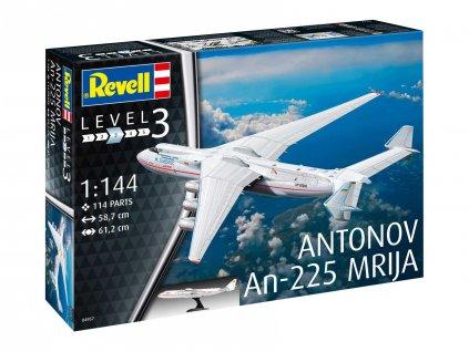Plastic ModelKit letadlo 04957 - Antonov AN-225 Mrija (1:144)