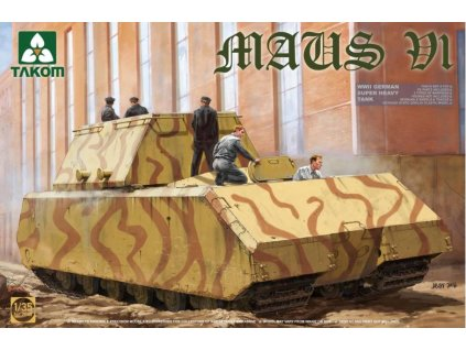 2049 WWII German Super Heavy Tank Maus V1