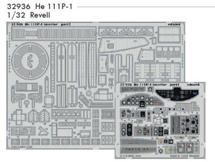 32936 He 111P 1 1 32 Revell