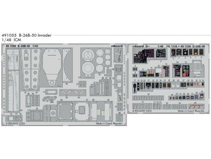 491055 B 26B 50 Invader 1 48 ICM