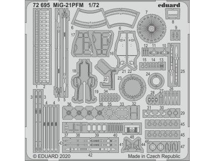 1/72 MiG-21PFM   (EDUARD)
