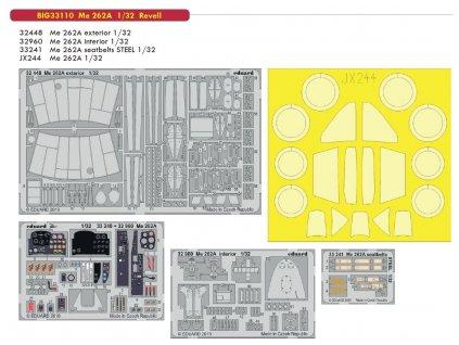 BIG33110 Me 262A 1 32 Revell
