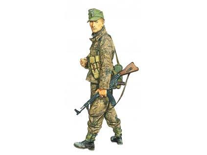 Model Kit figurky 1624 - UNTERSCHARFÜHRER, WIKING DIVISION (HUNGARY 1945) (1:16)