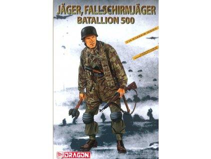 Model Kit figurky 1628 - JÄGER, SS-FALLSCHIRMJÄGER BATALLION 500 (1:16)