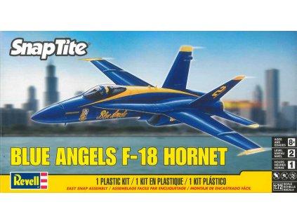 Snap Kit MONOGRAM letadlo 1185 -  F-18 'Blue Angels' (1:72)