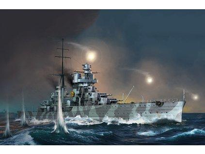 Italian Heavy Cruiser Fiume 05348