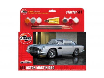 Starter Set auto A50089A - Aston Martin DB5 - Silver (1:32)
