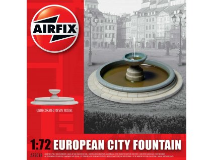 Classic Kit budova A75018 - European City Fountain (1:72)