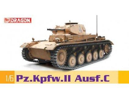 Model Kit tank 75045 - PZ.KPFW.II AUSF.C (1:6)
