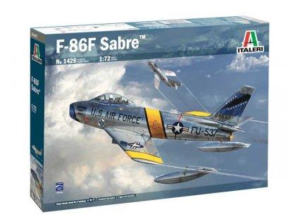 Model Kit letadlo 1426 - F. 86 F Sabre (1:72)