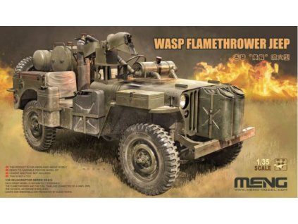 VS 012 WASP Flamethrower Jeep