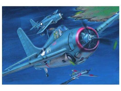"""Grumman F4F 3 """"Wildcat""""(late) 02225"""
