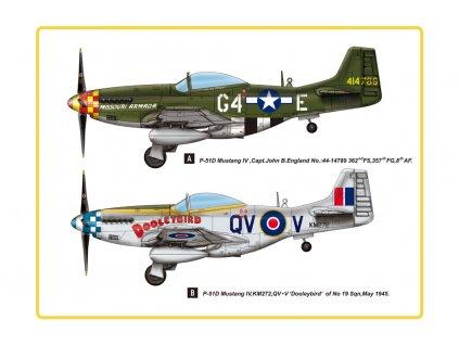 1: 48 P-51D Mustang IV.