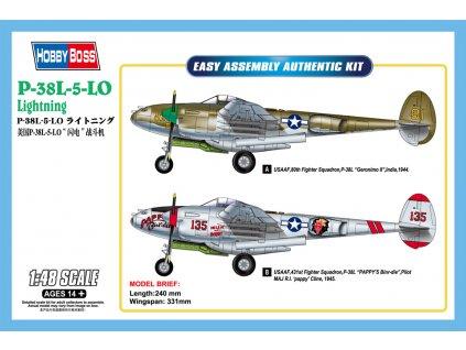1/48 P-38L-5-10 Lightning