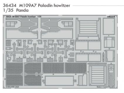 36434 M109A7 Paladin howitzer Panda 1 35