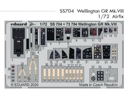 SS704 Wellington GR Mk.VIII Airfix 1 72