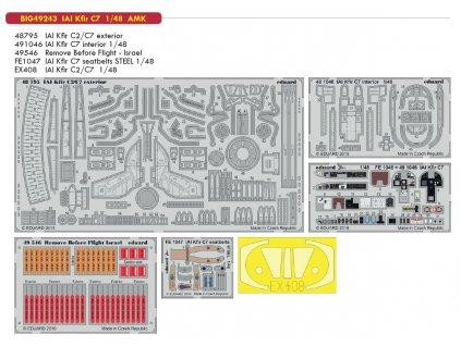BIG49243 IAI Kfir C7 1 48 AMK