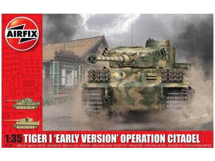 "Classic Kit tank A1354 - Tiger-1 ""Early Version - Operation Citadel"" (1:35)"