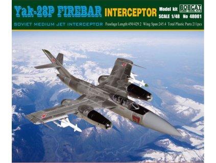 48001 Yak 28P Firebar Interceptor