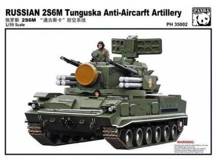 PH35002 Russian 2S6M Tunguska Anti Aircraft Artillery SPAAGM