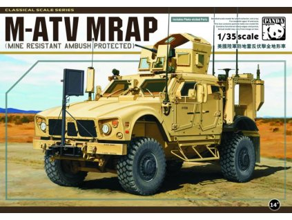 PH35001 M ATV MRAP (Mine Resistant Ambush Protected)