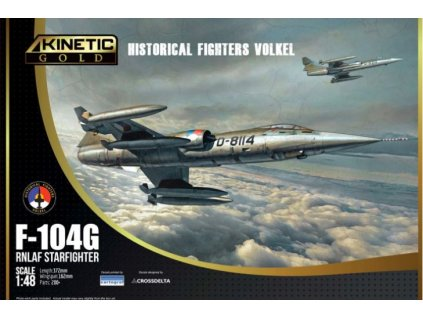 48090 F 104G RNLAF Starfighter Historical Fighters Volkel