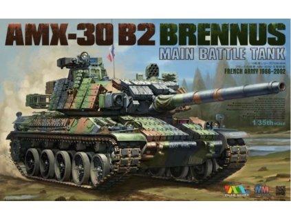 4604 French Army 1966 2002 AMX 30 B2 BRENNUS Main Battle Tank