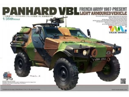 4603 French Army 1987 Present PANHARD VBL Light Armoured Vehicle