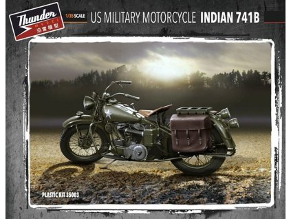 35003 US Military Motorcycle Indian 741B