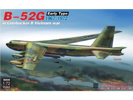 UA72210 Boeing B 52G Stratofortress Early Type 1967 1972 in Linebacker II Vietnam War