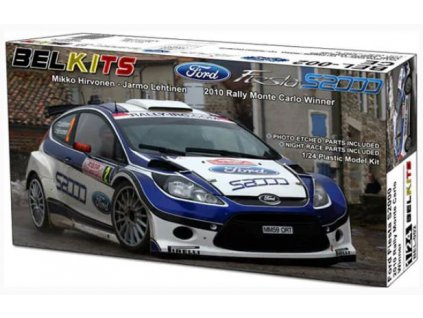 BEL 002 Ford Fiesta S2000 2010 Rally Monte Carlo Winner