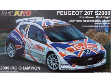 BEL 001 Peugeot 207 S2000 2009 IRC Champion