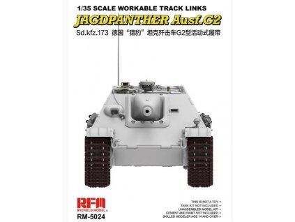RM 5024 Workable Track Links for Jagdpanther Ausf.G2