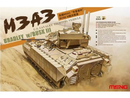 SS 006 U.S. Cavalry Fighting Vehicle M3A3 Bradley with BUSK III