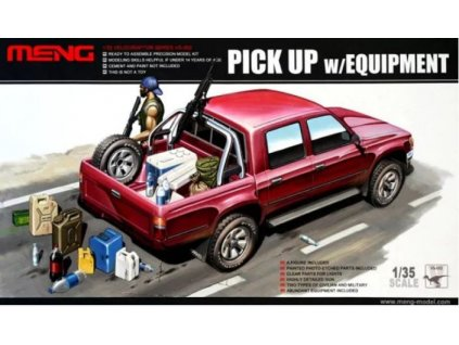 VS 002 Pick Up with equipment