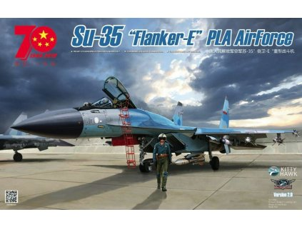 KH80128 Su 35 Flanker E China PLA AirForce Since 1949
