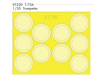 XT220 T 72A 1 35 Trumpeter