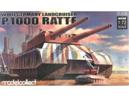 UA72088 WWII Germany Landcruiser P.1000 Ratte