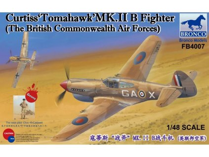 FB4007 Curtiss 'Tomahawk' Mk.II B Fighter The British Commonwealth Air Force