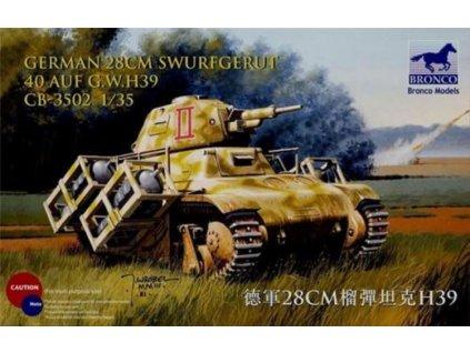 CB35002 German 28cm sWurfgerät 40 auf G.W. H39