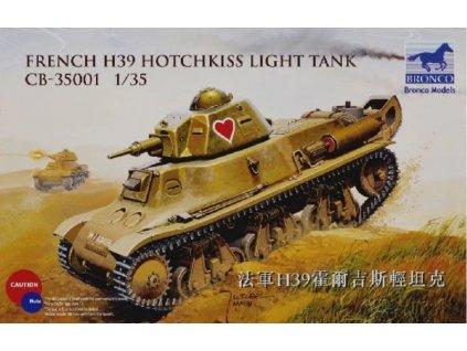 CB35001 French H39 Hotchkiss Light Tank