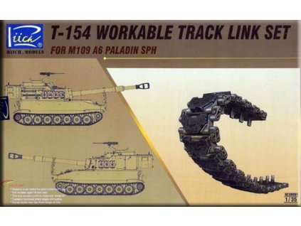 RE30001 T 154 workable track link set for M109 A6 SPH