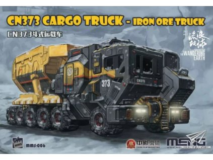 MMS 006 The Wandering Earth CN373 Cargo Truck Iron Ore Truck